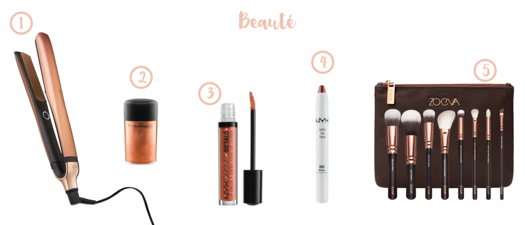 Selection Beaute copper