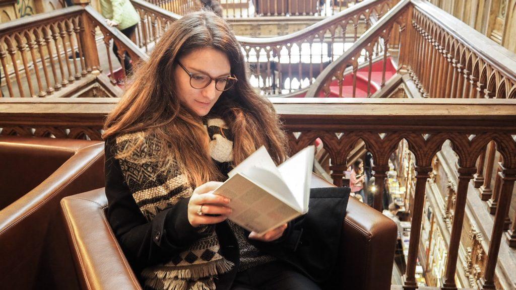 porto-librairie-lello-lecture